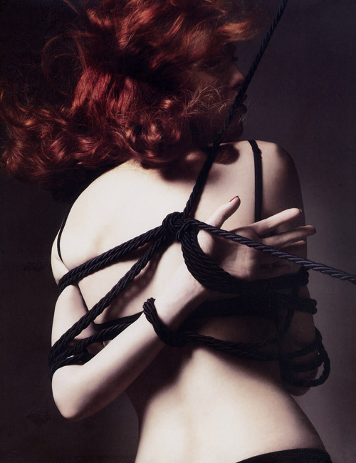 Karen Elson - Vogue Paris 2007 Calendar