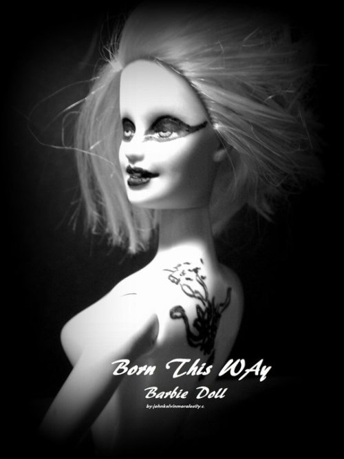 BORN THIS WAY BARBIE DOLl