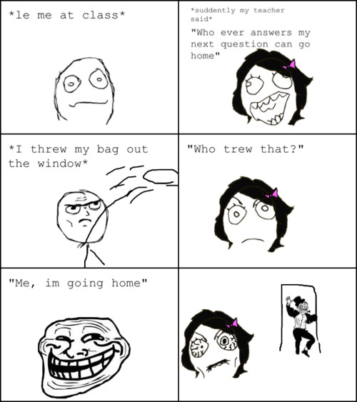 Teacher getting TROLLED!!!