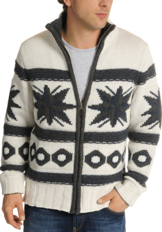 40% Off! Now £38 Cardigan by Conley'sNormal fit, chunky knit, stand-up collars with high front zip, length approximately 67cm in size l, 80 wool 20 polyamide.More…
