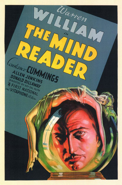 the-asphalt-jungle:  The Mind Reader (1933)