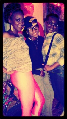 I was one for halloween! ;-) 80s Flashdancer, Wiz Khalifa, and a Nerd. <3 @24GoldenChild