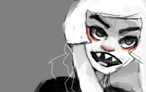i wanted to draw something creepy on drawr what the fuck is this i have no idea it looks like something from a horror manga