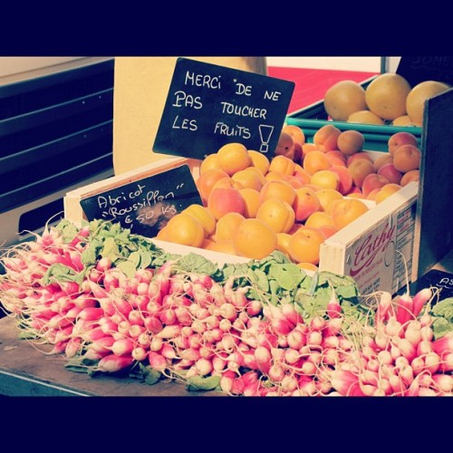 Markets #france #tours (Taken with instagram)