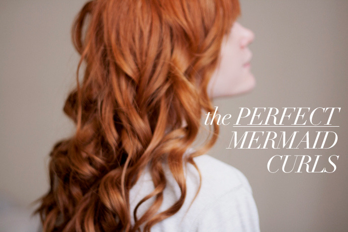 The Style Mermaid by Kisty Mea • The Perfect Mermaid Curls