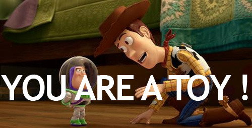 New image from Toy Story short Small Fry As all Toy Story fans know, Woody and co are to kindly return to cinema screens in Pixar short Small Fry, which will be shown before The Muppets - and a new image has arrived online!Small Fry will see Buzz Lightyear (voiced by Tim Allen) replaced by a miniscule fast-food version of himself, forcing the real Buzz to deal with a support group for discarded toys.[TO SEE THE FULL IMAGE, CLICK ON WOODY AND MINI-BUZZ OR FOLLOW THIS LINK]