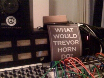 …as seen on Nigel Godrich's mixing board… RR