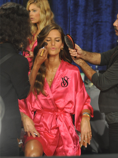 Just in case you missed it: Go backstage at the Victoria's Secret Fashion Show with this year's Angels. Get your inside look here »