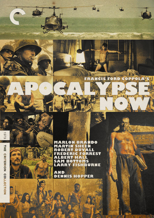 "Criterion Cover for Francis Ford Coppola's ""Apocalypse Now"""