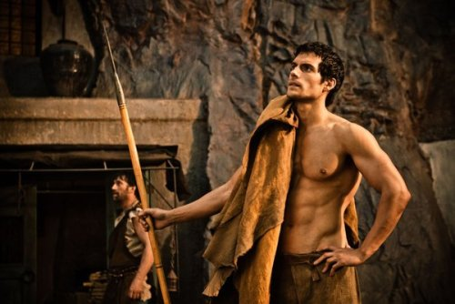 Sure, he's playing Theseus here, but Henry Cavill has a shifter body. That guy could totally be alpha of a pack.