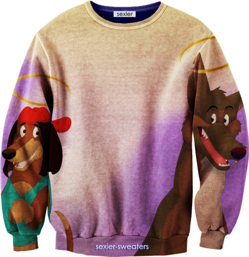All Dogs Go To Heaven Sweater