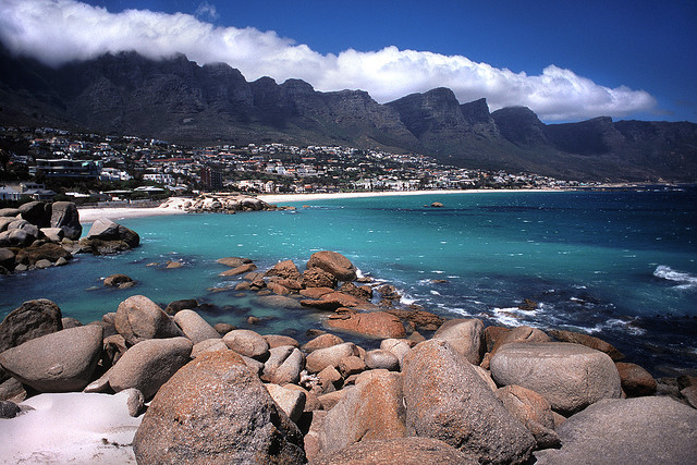 Camp Bay (South Africa) by ©miguel valle de figueiredo on Flickr.