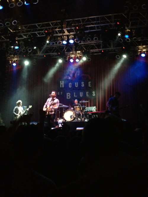 "Thrice  Live at the House of Blues November 10, 2011; the second night.  Good times and the encore was great. ""Phoenix Ignition"" and ""To Awake and Avenge the Dead"" were performed.  The opening bands were all right, nothing really special at all.   But it was a sweet reunion of my old band many years back, Code for Crisis!"