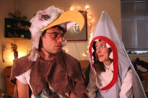 lovingly watched:eagle vs. shark  one of my favorites. Everything about it.
