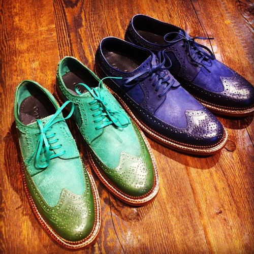 Sick #colehaan shoes only available at soho store. Can't you make these in women's sizes? (Taken with instagram)