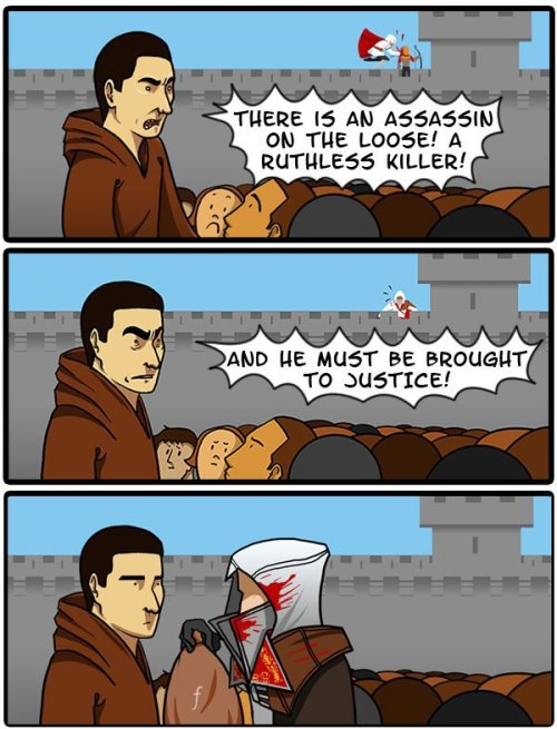 collegehumor:  I Think the Assassin's Creed Heralds Might be Taking Bribes [Click to keep reading]