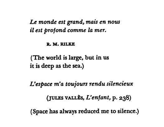 Gaston Bachelard, The Poetics of Space.