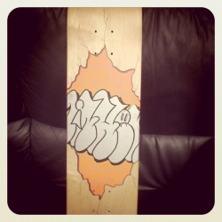 Skateboard for Eighth Ply Show 2011