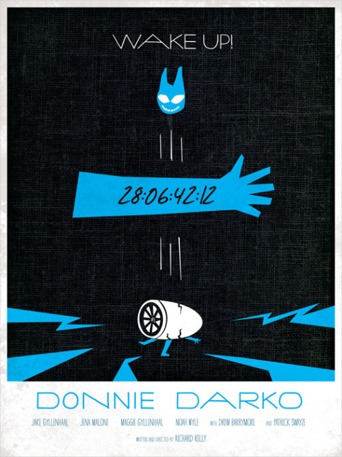 minimalmovieposters:  Donnie Darko by Wonderbros  good movie :)