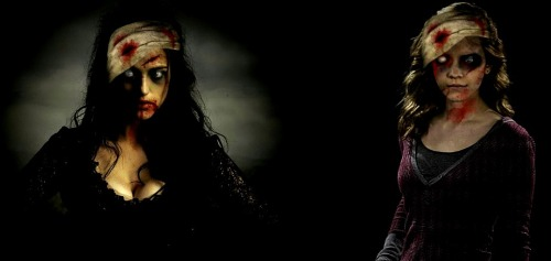 Zombie Morgana and Hermione.
