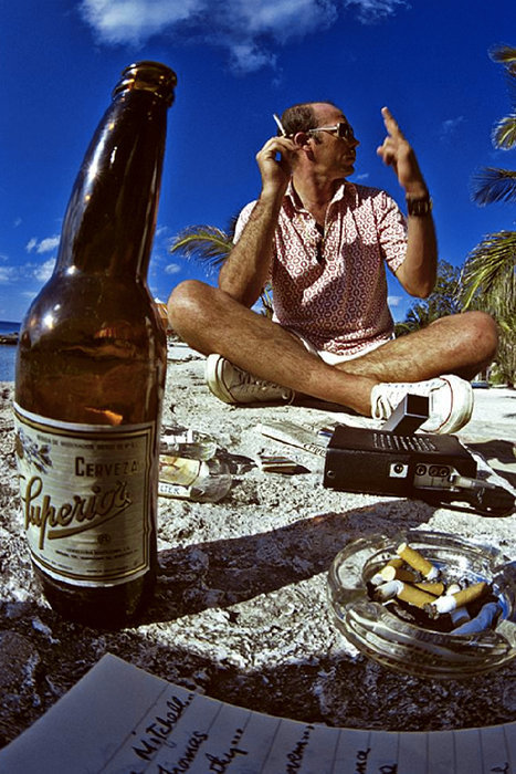 oceansongs:  Hunter S. Thompson