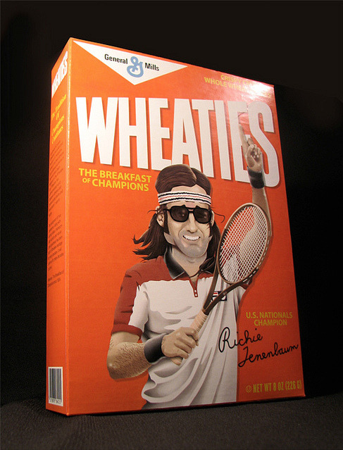 Richie Tenenbaum love cereals