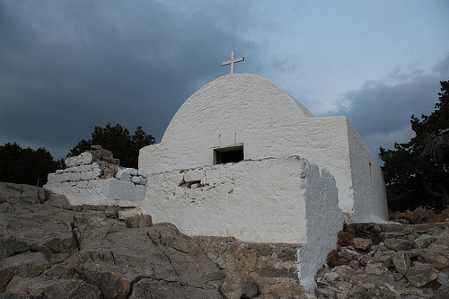 Place: Monolithos, Notio Aigaio, Greece Date/Time: 2011-11-02 17:12:09 Camera: Canon EOS 600D Dramatic sky.