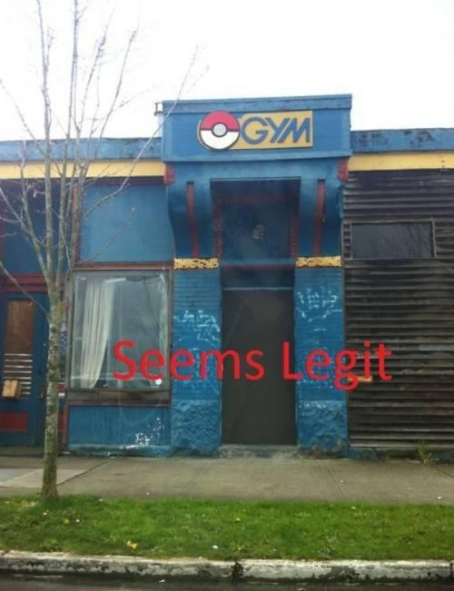 "collegehumor:  Seedy Pokemon Gym Don't take a wrong turn in Cerulean City.  Unf…and some pwp fanfic pops into my head about a ""Special Gym"" that exists for helping pokemon trainers who may be having a hard time getting badges. They speak of this gym where it's really easy to earn a badge, maybe even all of them (no one has to know they are fake). For the people who seek this gym out…well…they get surprise sex when they enter. Obviously not a gym."