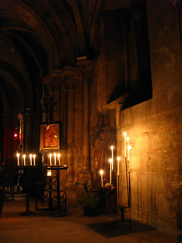 Oldest church in Paris by candle light:   We attended a piano concert there, by candle light, in a mini church. Very atmospheric.