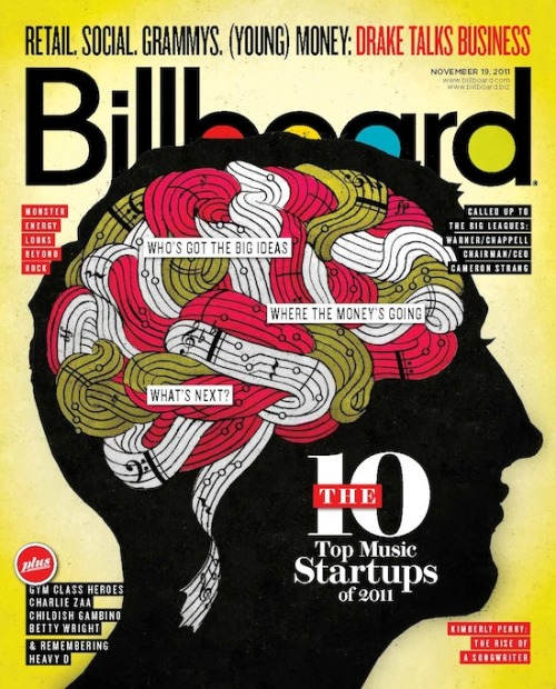 This week's cover: 2011's Top 10 Music Startups. Any guesses for our No. 1?