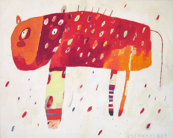 rote tigerkatze new works 2011. click the cat to be forwarded to her page. © by christina gschwantner