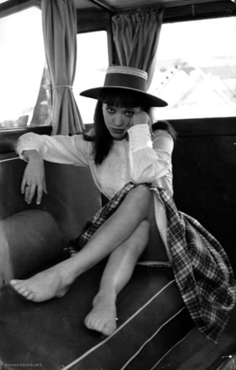 creepingirrelevance:  the60livehere:  Anna Karina  (re-reblog)