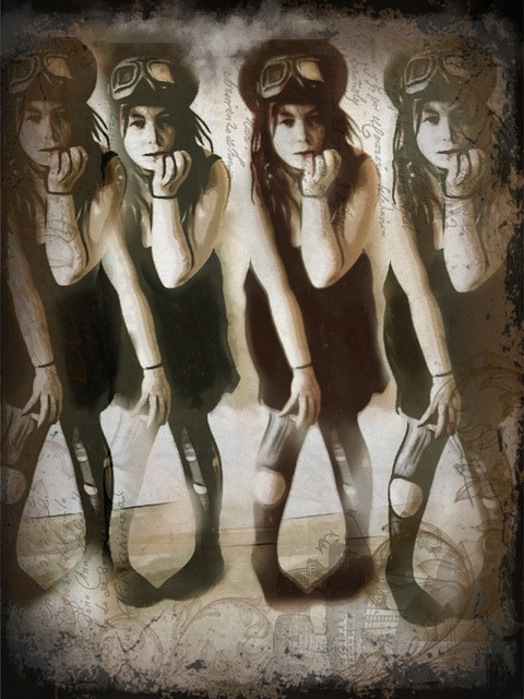 Nora x 4 by Ritaflo on Flickr.by Rita Flores