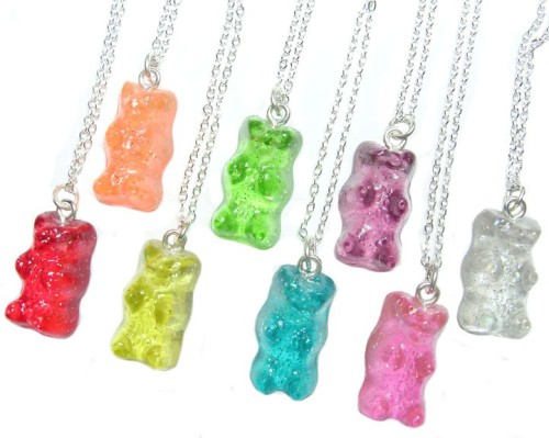 I'd wear all eight at once. !G haha!  You would.  I want a charm bracelet with all of them on it. -Ell