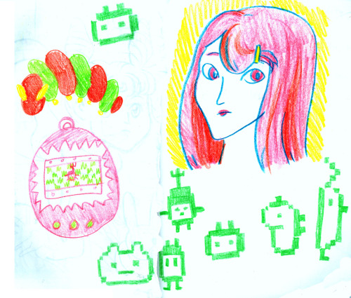 Thinking of tamagotchi-like sprites as pets.
