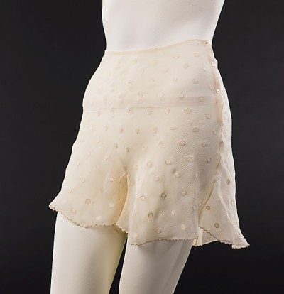 Silk Underpants (French), Met Museum, 1930-39