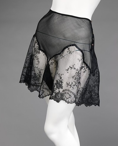 Silk Underpants (French), Met Museum, ca. 1930
