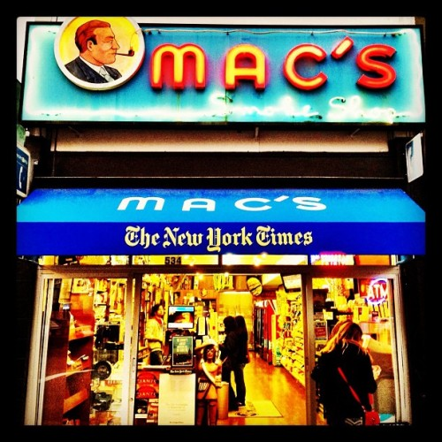 Mac's smoke shop on Emerson #paloalto #california #siliconvalley  (Taken with Instagram at Mac's Smoke Shop)