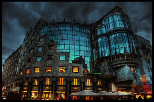 landscapelifescape:  Do&Co Hotel- Stephansplatz, Vienna, Austria  The Glass Palace HDR by ISIK5