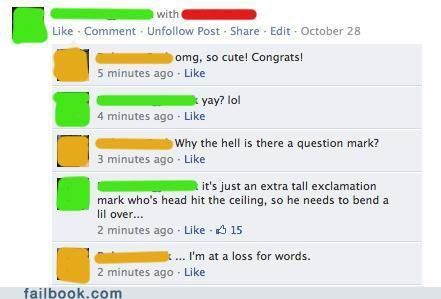 Extra Tall Funny Facebook Status Messages And Fails