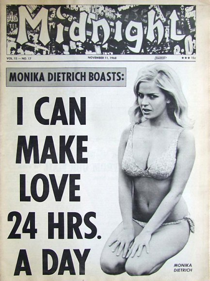 Midnight cover, Nov 1968