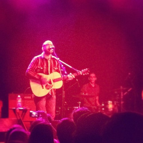 Mancrushing on Dallas Green.  (Taken with instagram)