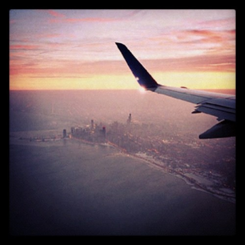 Hello Chi-Town! (Taken with instagram)