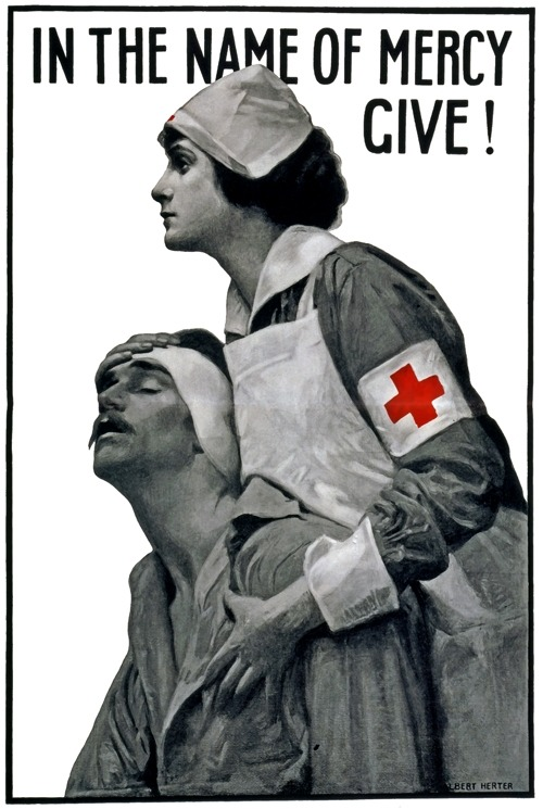In the Name of Mercy, c. 1917 (via #116649)