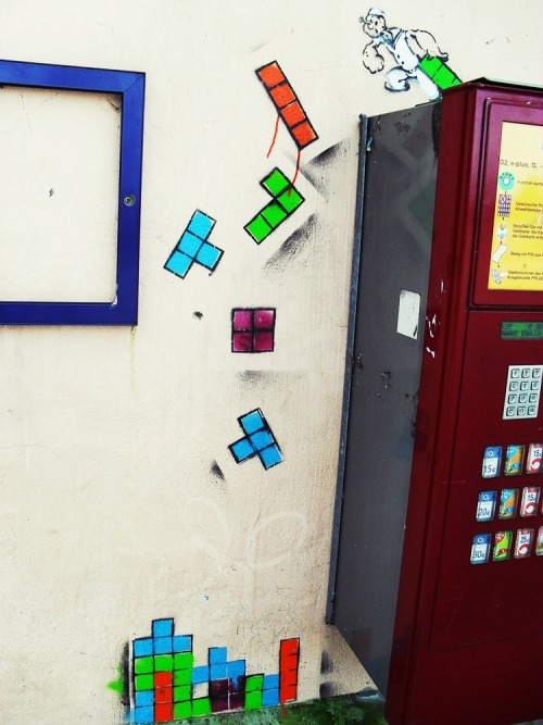 Tetris - photo by creatively92