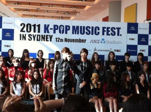111112 B2ST AND OTHER IN K-Pop Music Fest Sydney PressCon