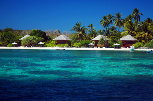 Wakatobi national park located in southeast Sulawesi province of Indonesia.