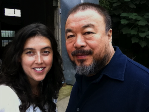 "Ai Weiwei: Never Sorry is the documentary that I most want to see as soon as it is released in 2012.  Journalist/Director Alison Klayman spoke on Judith Helfand's ""Tough Topics"" panel at DocNYC.  Since 2008 she has been making a documentary about the architect/artist/activist who designed the Bird's Nest at the Beijing Olympics, Ai Weiwei, who was roughed up, sentenced to house arrest and recently served with a $2.4 million dollar tax demand. Klayman scooped herself to do a CNN report on Ai Weiwei and a Frontline documentary about him."