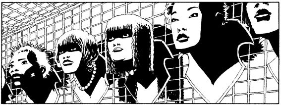 "From ""Sin City"" by Frank Miller"