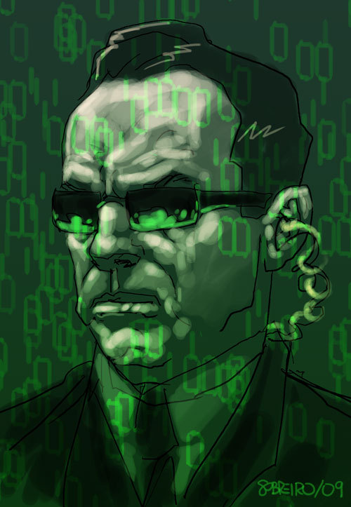 Agent Smith by Felipe Sobreiro